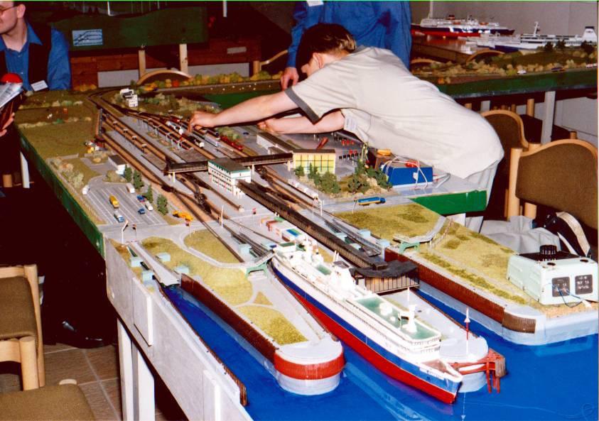 Der Fährhafen Puttgarden in Z