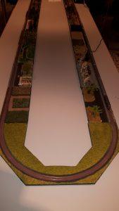 Der Z-Stammtisch Blomberg war mit einer Modulanlage der Spur Z vertreten